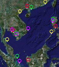 Click to Access Seagrass Demo Site Map